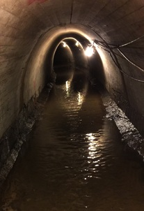 Stormwater tunnel