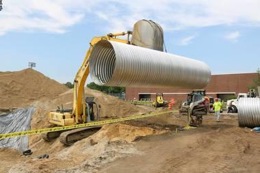 Stormwater Tank Installation