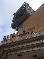 Hollywood Theater Scaffolding
