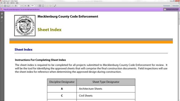 Current Sheet Index