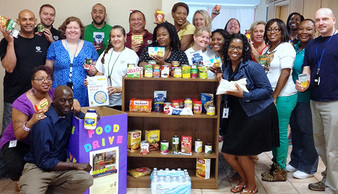 City of Raleigh Employee Food Drive