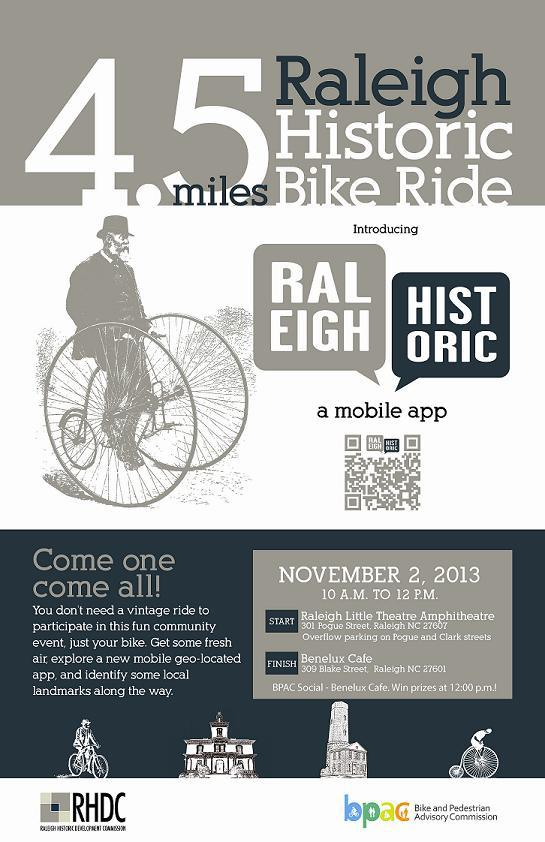 RHDC Historic Bike Ride