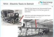 1914 Electric Taxis