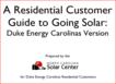 NC Solar Guide