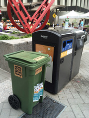 Composting at Farmers Market