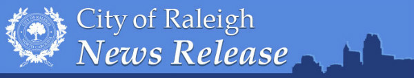 News Release City of Raleigh raleighnc.gov
