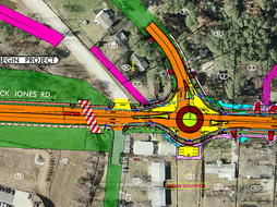 Buck Jones Road Plan