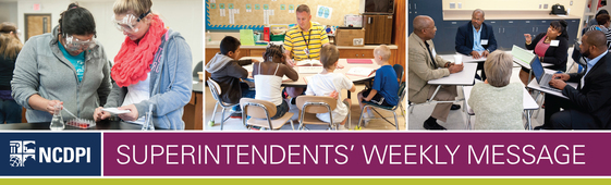 Superintendents' Weekly Message