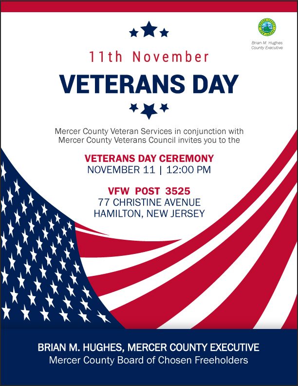 Mercer County Veterans Day Ceremony 2018