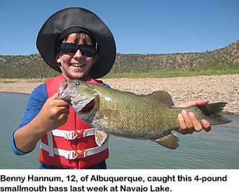 N m fishing and stocking reports for july 16 for Nm fish stocking report