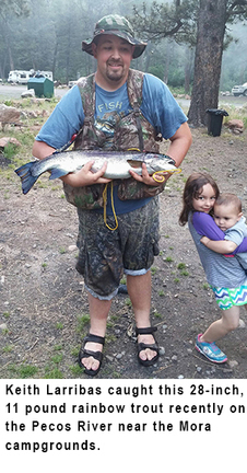 New mexico fishing and stocking reports stream flows and for Hopewell fish and game