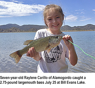 New mexico fishing and stocking reports for july 28 for Nm fish stocking report