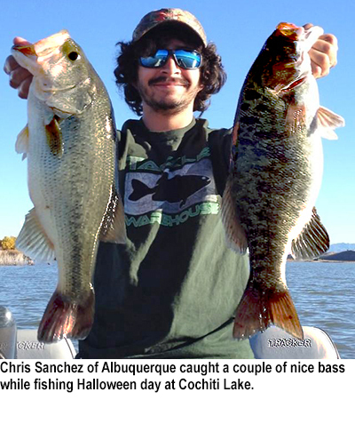 Nm game and fish fishing report for october 31 2015 for Nm fish stocking report