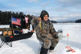 Ice Fishing Youth