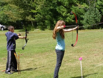 Kids learn about hunting fishing and trapping at dec for Nysdec fishing license