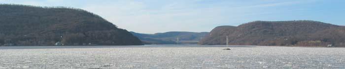 Peekskill Bay in winter