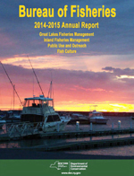Bureau of Fisheries Annual Report cover