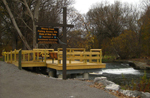 Accessible Fishing Platform on Wiscoy Creek in the Town of Pike
