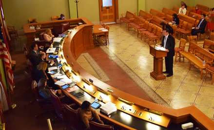 Executive Director Kevin L. Miller provided testimony at the Ohio Statehouse yesterday.