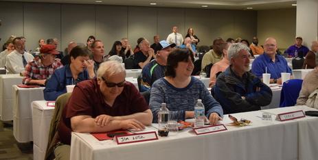 Participants enjoy Conference