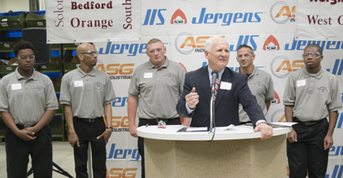 Jack Schron Jergens CEVEC Ribbon Cutting