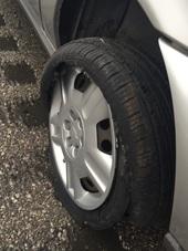 KLM Flat Tire
