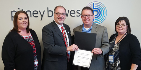 Pitney Bowes Creating Opportunity 2015