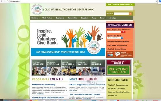 swaco.org homepage
