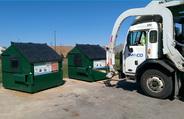 Drop Off Recycling program trucks