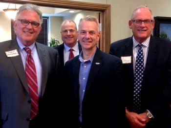 Roger Beverage, Craig Buford, Steve Russell, and Gregg Vandaveer