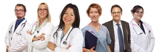 Various health care providers