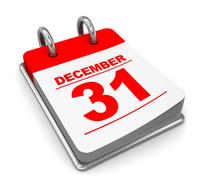 Calendar reads December 31