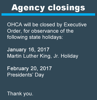 Winter agency closings 2017