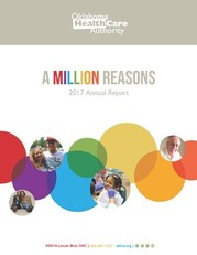State Fiscal Year 2017 OHCA Annual Report