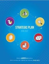 Cover of the state fiscal year (SFY) 2018 - SFY 2022 OHCA Strategic Plan