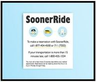 SoonerRide magnets are available for order at www.okhca.org/pubs. Quantities are limited.