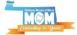 OkMOM 10th Anniversary Logo