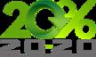 20% x 2020 Logo - Small