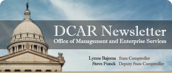 DCAR Newsletter Office of Management and Enterprise Services
