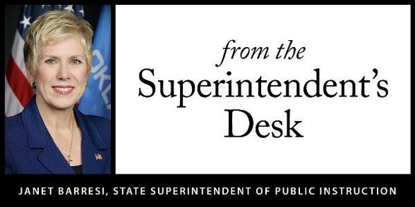 From the Superintendent's Desk
