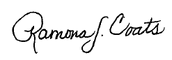 Ramona Signature