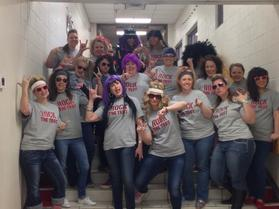 Teachers at West Elementary in Weatherford dressed like rock stars and threw a testing pep rally for their students.