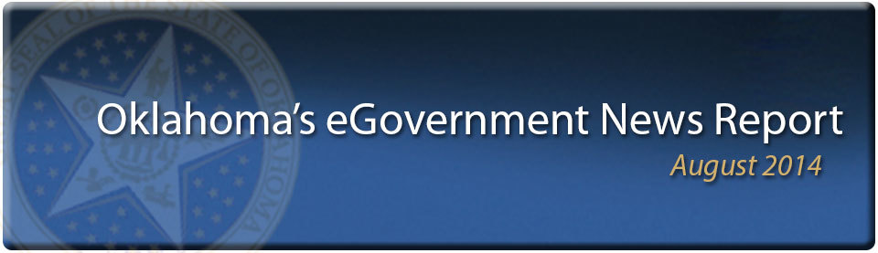 August 2014 eGovernment News Report