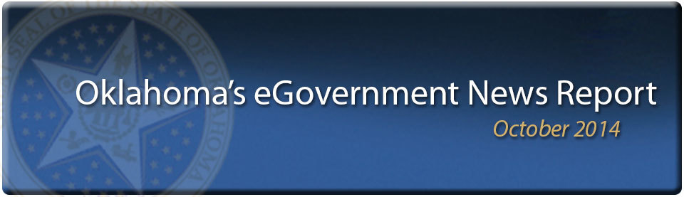 October 2014 eGovernment News Report