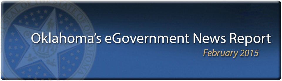 February 2015 Egovernment News Report