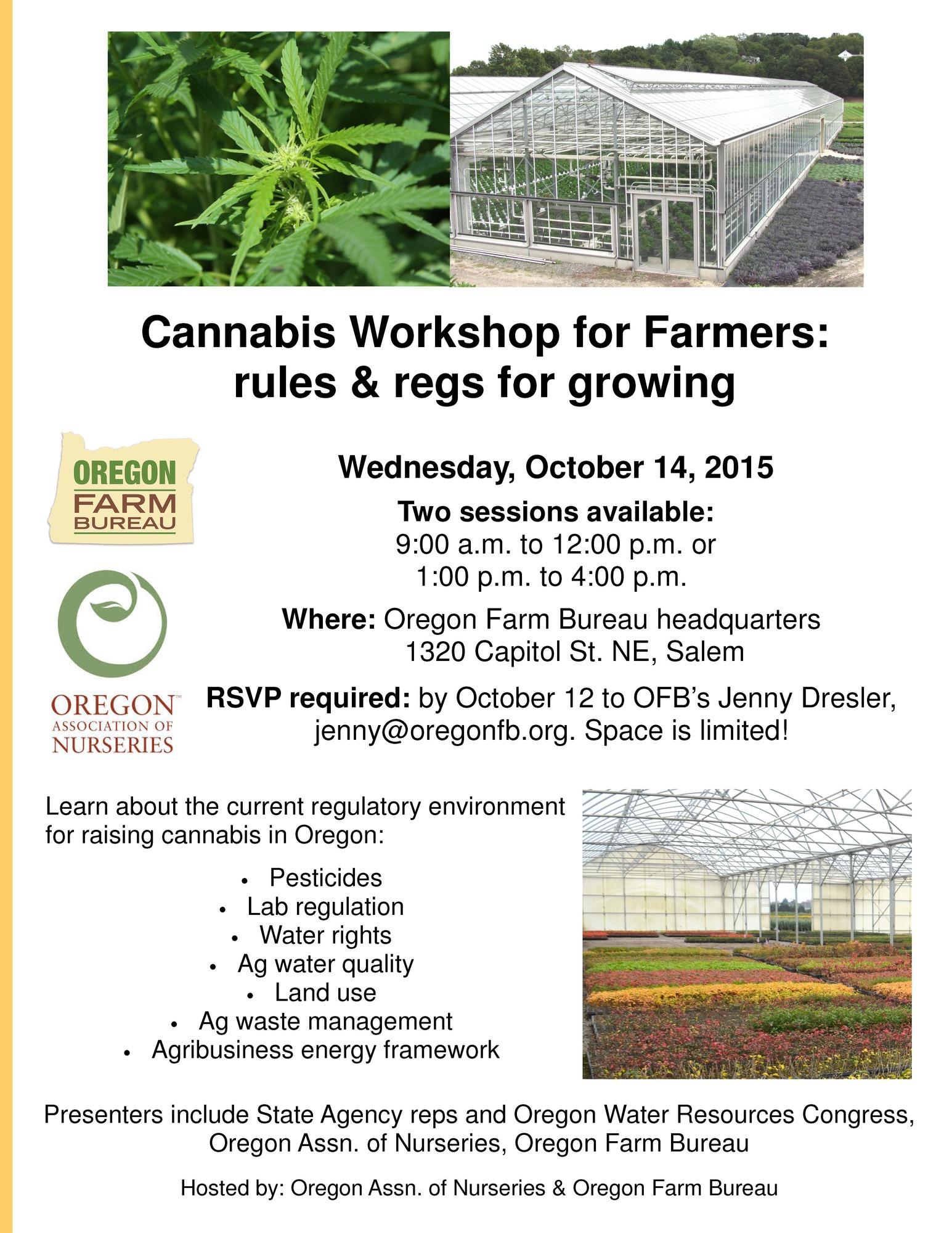 Cannabis Workshop