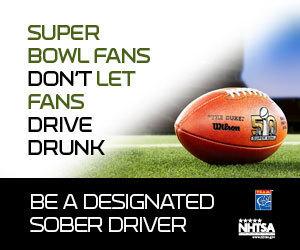 Super Bowl fans don't let fans drive drunk