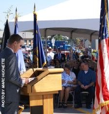 Lebanon Oregon Veteran's Home opening ceremony