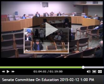 Senator Monroe speaks in support of SJR 2.