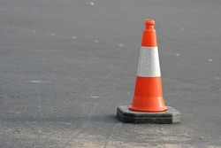 Caution Cones are used for sobriety checkpoints.
